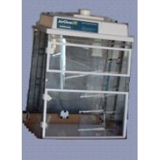 Air Clean Systems Total Exhaust Rotary Evaporator Enclosure