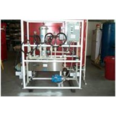 Aquafine Ultraviolet Disinfection Unit Water Purification System / DI Water SKID
