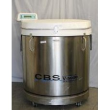 Custom Biogenic Systems Isothermal V5000B Large Liquid Nitrogen Vapor Storage System
