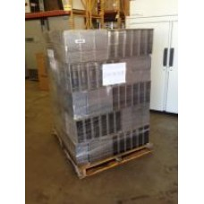 Lot of Freezer Racks - Pallet with Racks for 5.25x5.25 Boxes