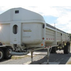 Trailer, Clements, End Dump, 2001